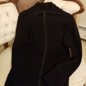 Elie Tahari Long Sweater Coat